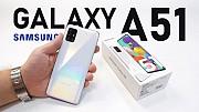 Samsung A51 Black White Blue