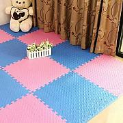 Разноцветные коврик-пазл Массажный!