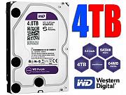 Новый 4tb (4000gb) WD Purple Sata Hdd. Абсолютно Новое +гарантия.