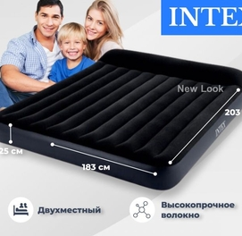 183х203х25 Надувной матрас-кровать Intex 64144