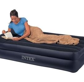 191×99×42 Intex 64122 Односпальная надувная кровать-матрас
