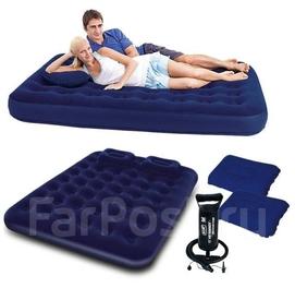 203×152×22 Bestway 67374 Надувная кровать Доставка бесплатно