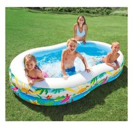 260×160×46 Надувной детский бассейн Доставка и ручной насос бесплатно