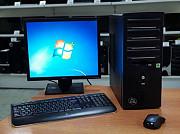 """Компьютер двух ядерный комплект с монитором 17"""""""