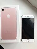 Айфон 7 розовый (pink Champagne) б/у, в отличном состоянии