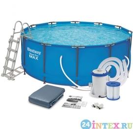 366×122 Каркасные бассейн Bestway Доставка бесплатно