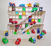 Парковка для мальчиков. Коллекция автомобилей.