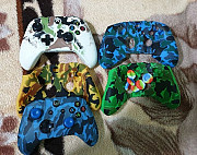 Xbox One S, x чехлы на джойстики с насадками для стикеров