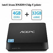 Мини компьютер Acepc T11 Mini Pc Windows 10, 4gb ram, 32 ssd, wifi