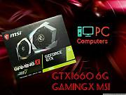 Видеокарта Msi Geforce Gtx 1660 6гб Gamingx