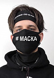 Хлопчатобумажные маски с модными принтами