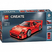 Конструктор Bela Ferrari F40, 1157 деталей, (аналог Lego Creator 10248)