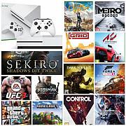 Новый Xbox One S + 27 игр : Sekiro, Pes 20, Gta V, Forza 4, Ufc 3 итд