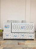 Детский кровать с шкафом и без шкафа