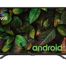 "7Телевизор evvoli 32"" Android Smart TV Google Assistant! Гарантия 1го"