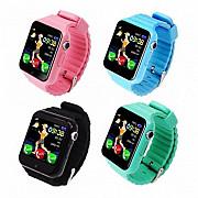 Детские часы Gps Smart Baby Watch V7k Металический корпус Андроид часы