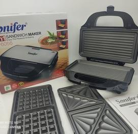 Абсолютно новый тостер 3в1 гриль+сэндвичница+вафельница toster gril