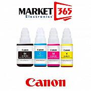 (оригинал)(4шт)(чернила и краска для Струйных принтеров Canon Pixma490