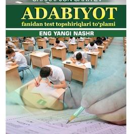 ADABIYOT FANIDAN TEST TOPSHIRIQLARI KITOBI