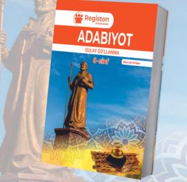 Adabiyot Qulay qo'llanma (8-sinf)