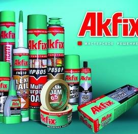 AKFIX АКФИКС силикон герметик пена клей доставка есть
