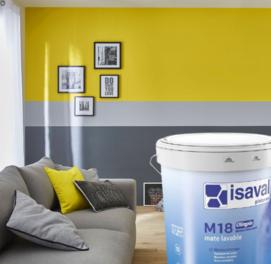 Акриловая глубоко-матовая краска против плесени для стен и потолков