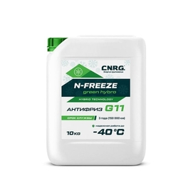 Aнтифриз C.N.R.G. N-FREEZE Green hybro G11 (10)