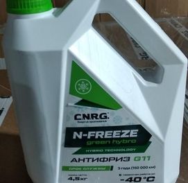 Aнтифриз C.N.R.G. N-FREEZE GREEN HYBRO G11 (4.5)