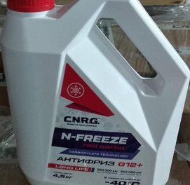 Aнтифриз C.N.R.G. N-FREEZE RED CARBO G12+ (4.5)