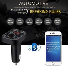 Avtomobil uchun MP3 USB MicroSD fleshka Bluetooth - Модулятор для авто
