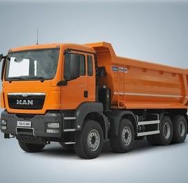 Автосамосвал TGS41.400 8/4 BB Euro 2 на 12l5% от производителя MAN