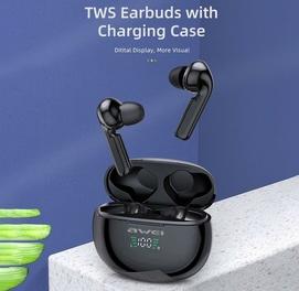 AWEI T15P TWS наушники Bluetooth гарнитуры с цифровым дисплеем зарядки