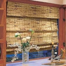 Бамбуковые жалюзи.