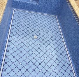 бассейн мозайка  киламиз