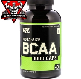 BCAA 200/400cap от Optimum Nutrition (ON) 100% Американский