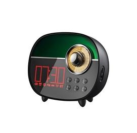 Беспроводная LED колонка с радио, часами и будильником Remax RB-M50