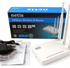 Беспроводной маршрутизатор серии N, скорость до 300 Мбит/с Netis