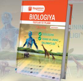 Biologiya testlar to'plami (7-8-sinf)