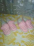 Розовые туфильки 21 , 22 размер.