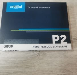 Crucial P2 500gb NVMe SSD