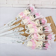 Мишка в розе. Подарки любимой!