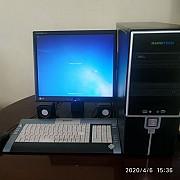 Продается ПК 2 ядерний pentium(r) hard 500 gb windows 7 максимальное или обмен на notebook с доплат