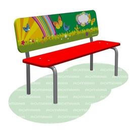 Детские скамейки ROMANA Детские площадки Горки Качалки Качели Карусели