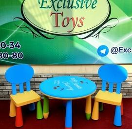 Детские стол и стуля , завоз из Дабая . Доставка по всему Узбекистану