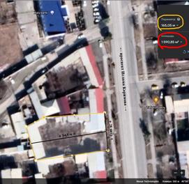 Дом (Ховли) 16 сот. в центре Кармана, ул. И.Каримова, возле Халк банки