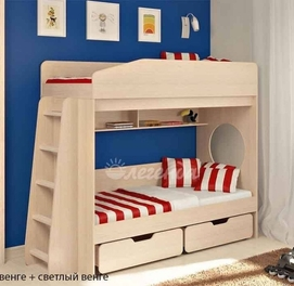 """Двухъярусная кровать """"Л -10- 2"""