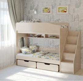 Двухъярусная кровать Л 10-3 ЛМДФ