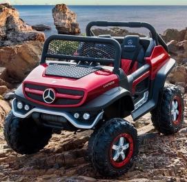 Двухместный детский электромобиль Mersedes ML450
