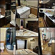 Ойбек/чехова/60-школа, 3х комнатная, 78м²(франция) Евро+мебель+техника