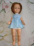 Винтажная французская кукла